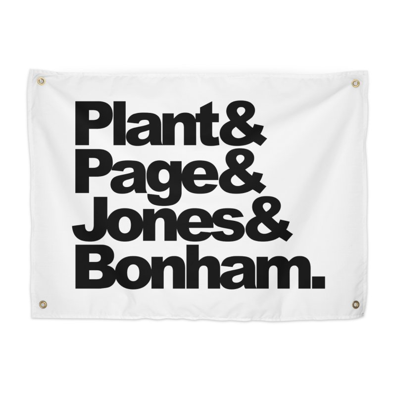 Plant and Page and Jones and Bonham Home Tapestry by ALMA VISUAL's Artist Shop