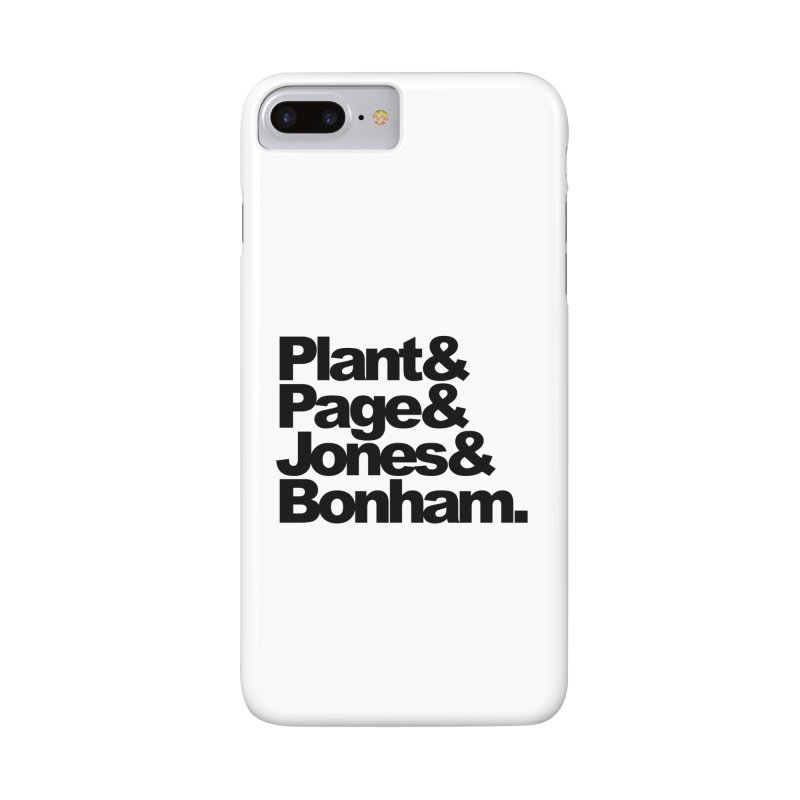 Plant and Page and Jones and Bonham Accessories Phone Case by ALMA VISUAL's Artist Shop