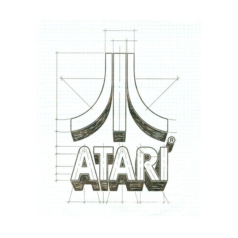atari logo sketch None  by ALMA VISUAL's Artist Shop