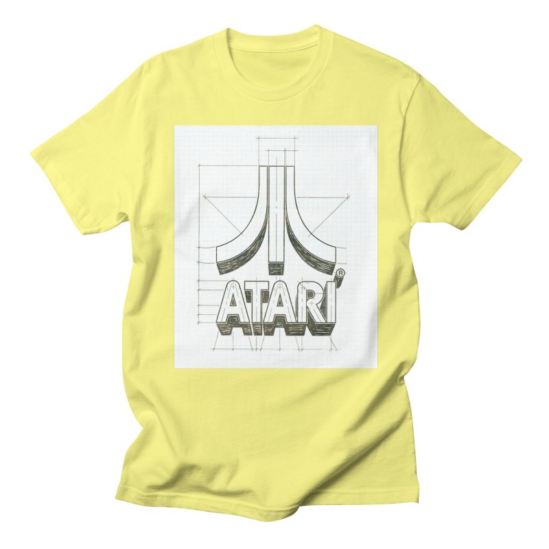atari logo sketch Women's Unisex T-Shirt by ALMA VISUAL's Artist Shop