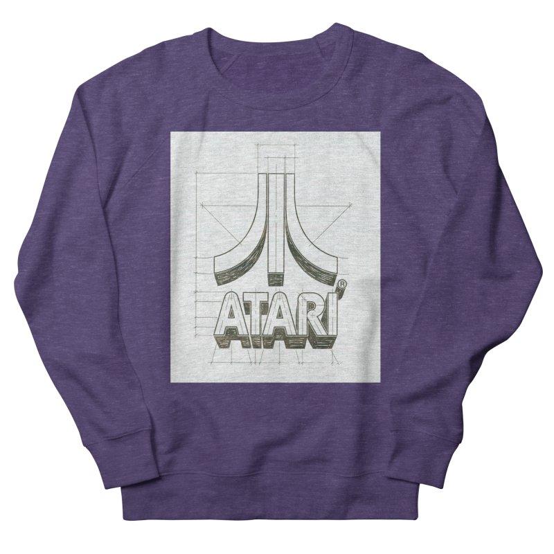 atari logo sketch Men's Sweatshirt by ALMA VISUAL's Artist Shop