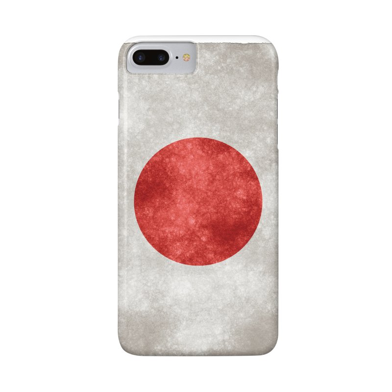 Japan Flag Accessories Phone Case by ALMA VISUAL's Artist Shop