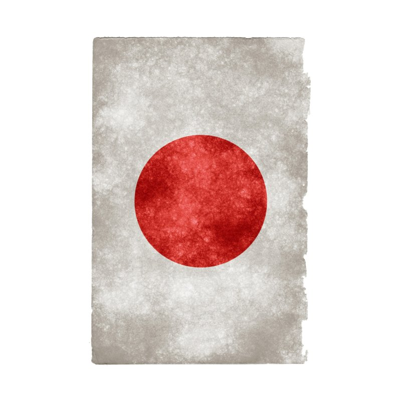 Japan Flag by ALMA VISUAL's Artist Shop