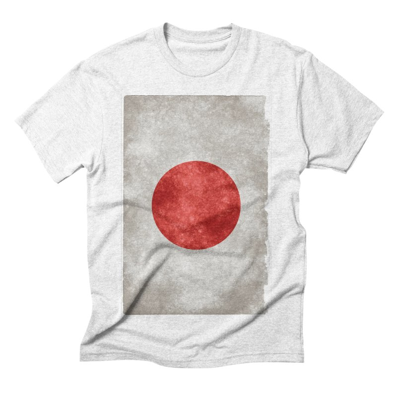 Japan Flag Men's Triblend T-shirt by ALMA VISUAL's Artist Shop