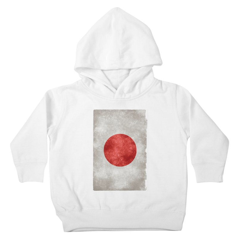 Japan Flag Kids Toddler Pullover Hoody by ALMA VISUAL's Artist Shop
