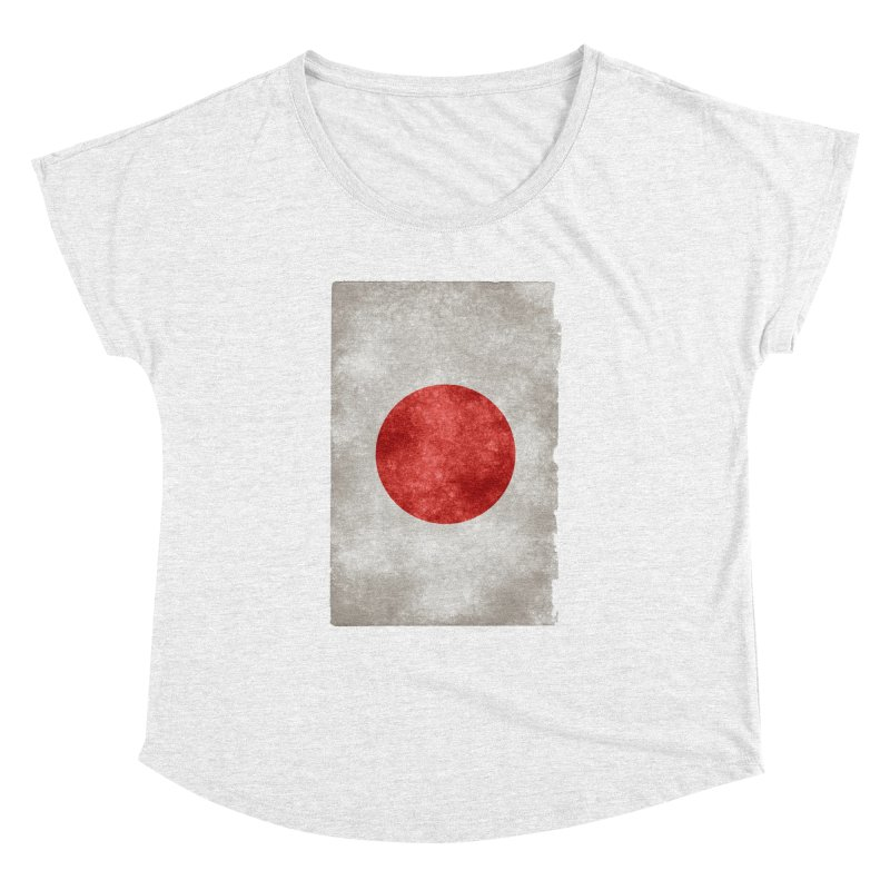 Japan Flag Women's Dolman by ALMA VISUAL's Artist Shop