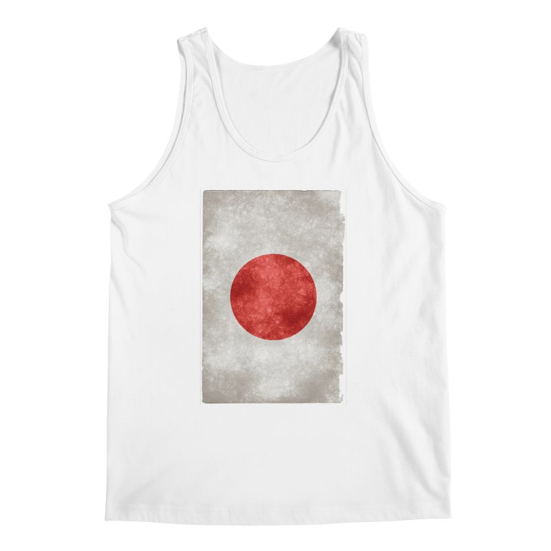Japan Flag Men's Tank by ALMA VISUAL's Artist Shop