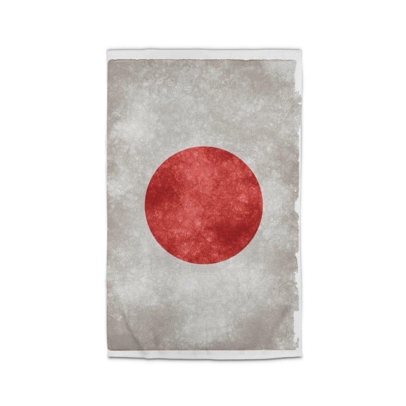 Japan Flag Home Rug by ALMA VISUAL's Artist Shop