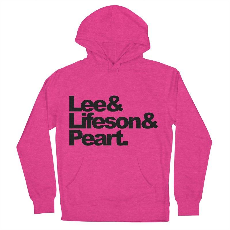 Lee and Lifeson and Peart Women's Pullover Hoody by ALMA VISUAL's Artist Shop