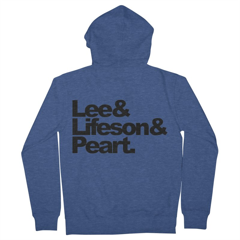 Lee and Lifeson and Peart Women's Zip-Up Hoody by ALMA VISUAL's Artist Shop