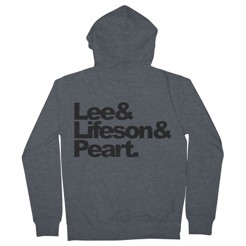 Lee and Lifeson and Peart Men's Zip-Up Hoody by ALMA VISUAL's Artist Shop
