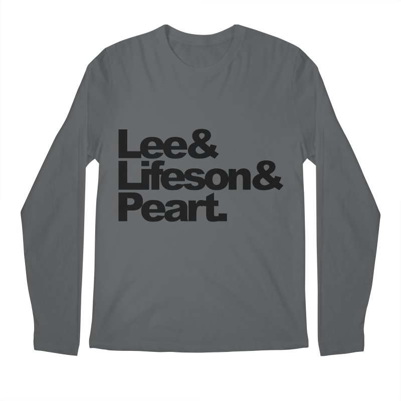 Lee and Lifeson and Peart Men's Longsleeve T-Shirt by ALMA VISUAL's Artist Shop