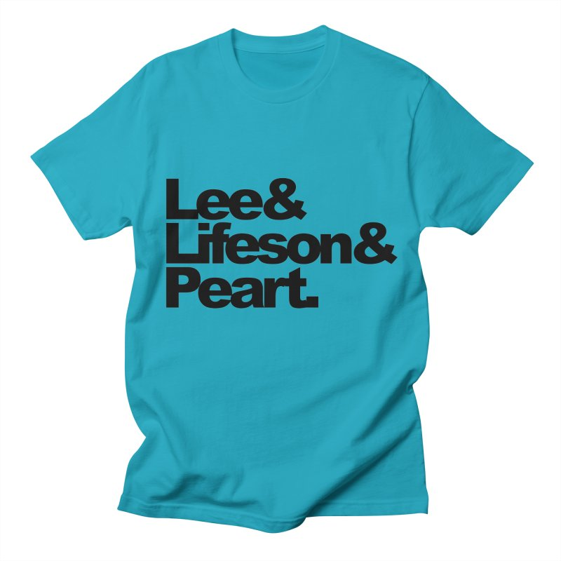 Lee and Lifeson and Peart Women's Unisex T-Shirt by ALMA VISUAL's Artist Shop