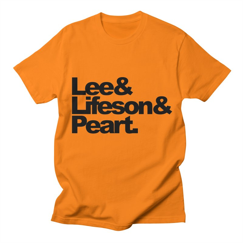 Lee and Lifeson and Peart Men's T-shirt by ALMA VISUAL's Artist Shop