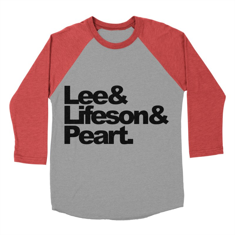 Lee and Lifeson and Peart Men's Baseball Triblend T-Shirt by ALMA VISUAL's Artist Shop