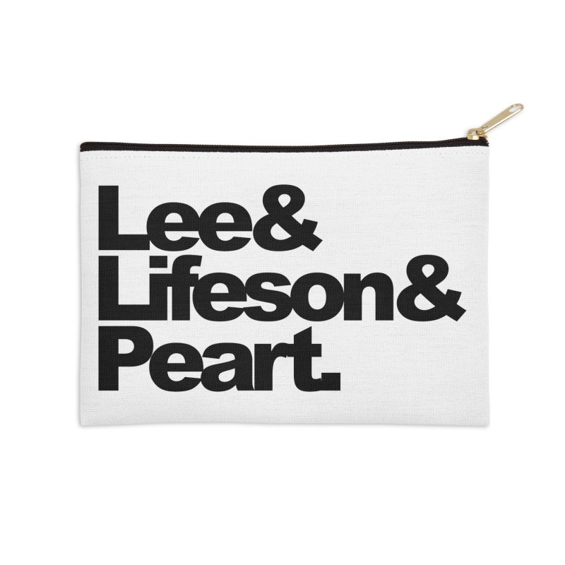 Lee and Lifeson and Peart Accessories Zip Pouch by ALMA VISUAL's Artist Shop