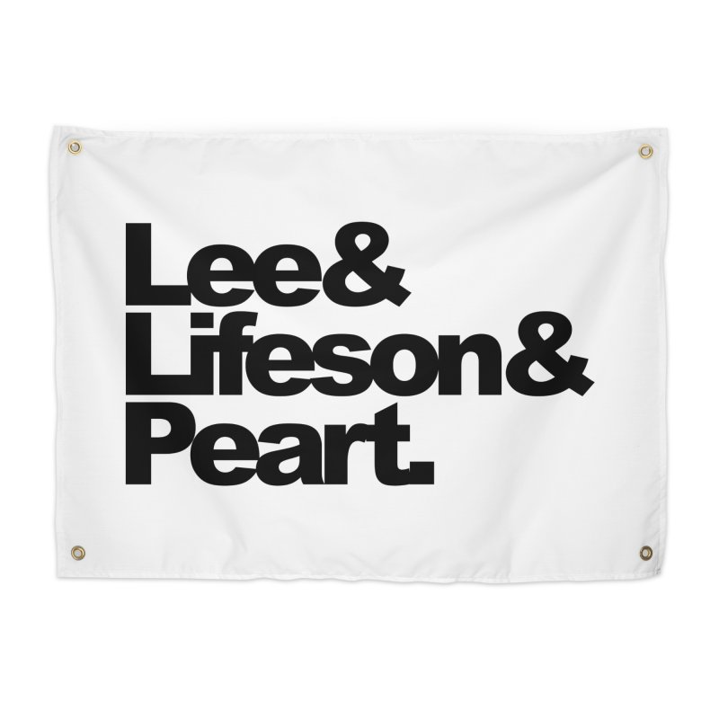 Lee and Lifeson and Peart Home Tapestry by ALMA VISUAL's Artist Shop