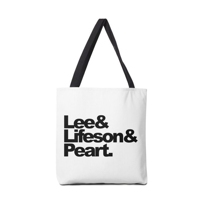 Lee and Lifeson and Peart Accessories Bag by ALMA VISUAL's Artist Shop