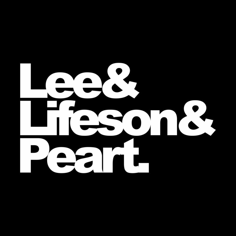 Lee and Lifeson and Peart - black background None  by ALMA VISUAL's Artist Shop