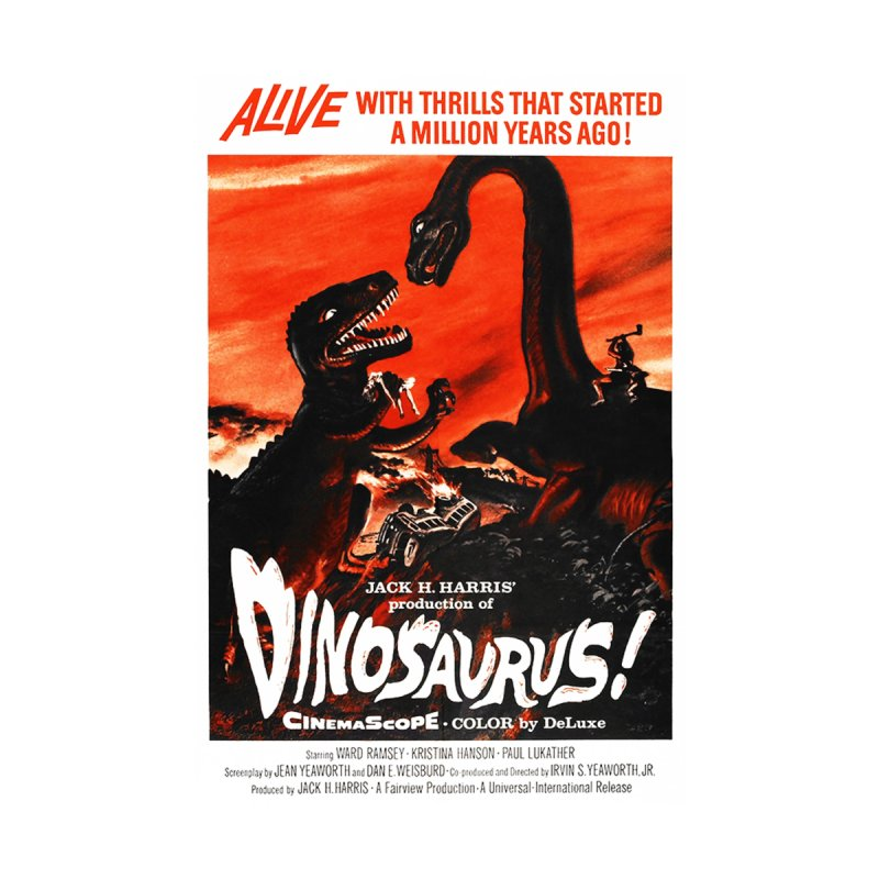 Dinosaurus ! - vintage movie poster by ALMA VISUAL's Artist Shop