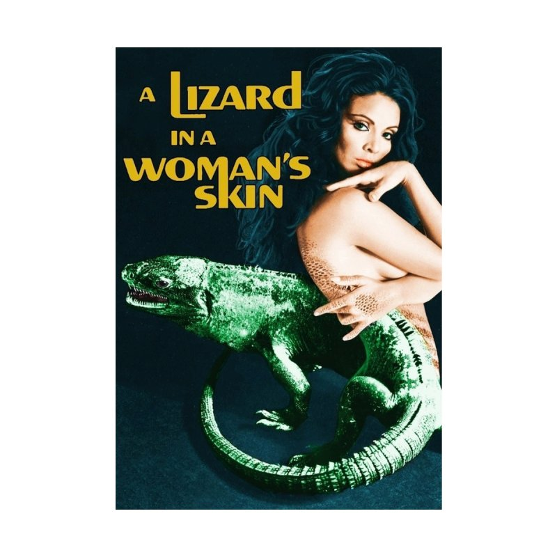 A Lizard in a Woman's skin  vintage horror movie poster by ALMA VISUAL's Artist Shop