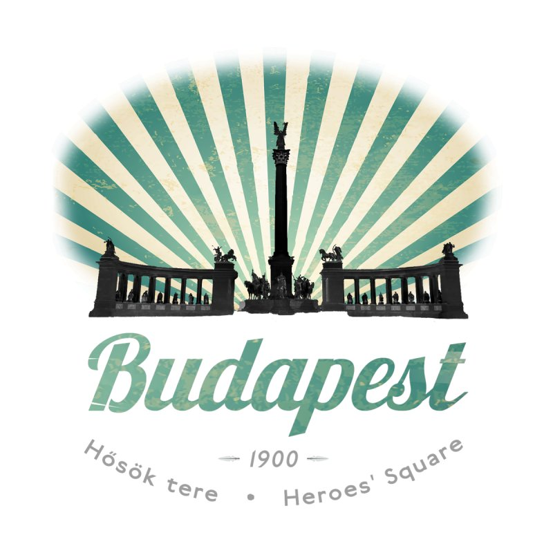 Budapest, Heroes Square by ALMA VISUAL's Artist Shop