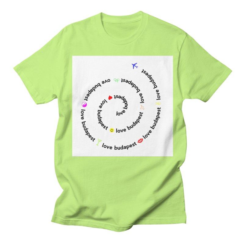 Love Budapest Women's Unisex T-Shirt by ALMA VISUAL's Artist Shop