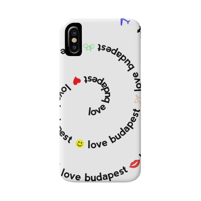 Love Budapest Accessories Phone Case by ALMA VISUAL's Artist Shop