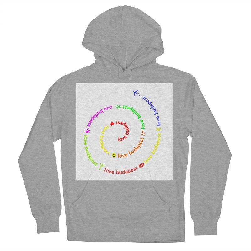 Love Budapest, colors Men's Pullover Hoody by ALMA VISUAL's Artist Shop