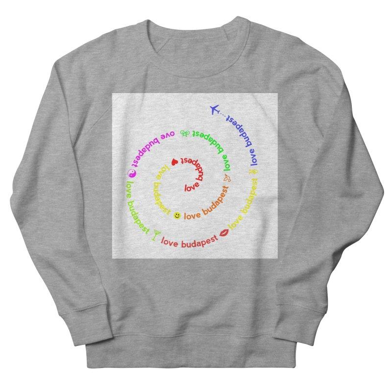 Love Budapest, colors Women's Sweatshirt by ALMA VISUAL's Artist Shop