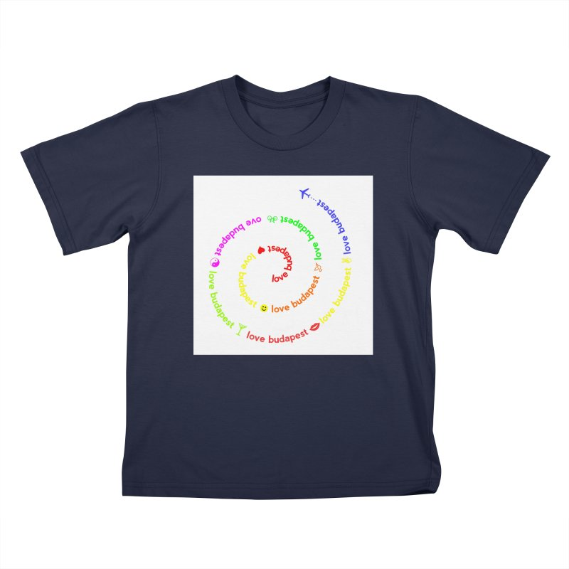 Love Budapest, colors Kids Toddler T-Shirt by ALMA VISUAL's Artist Shop