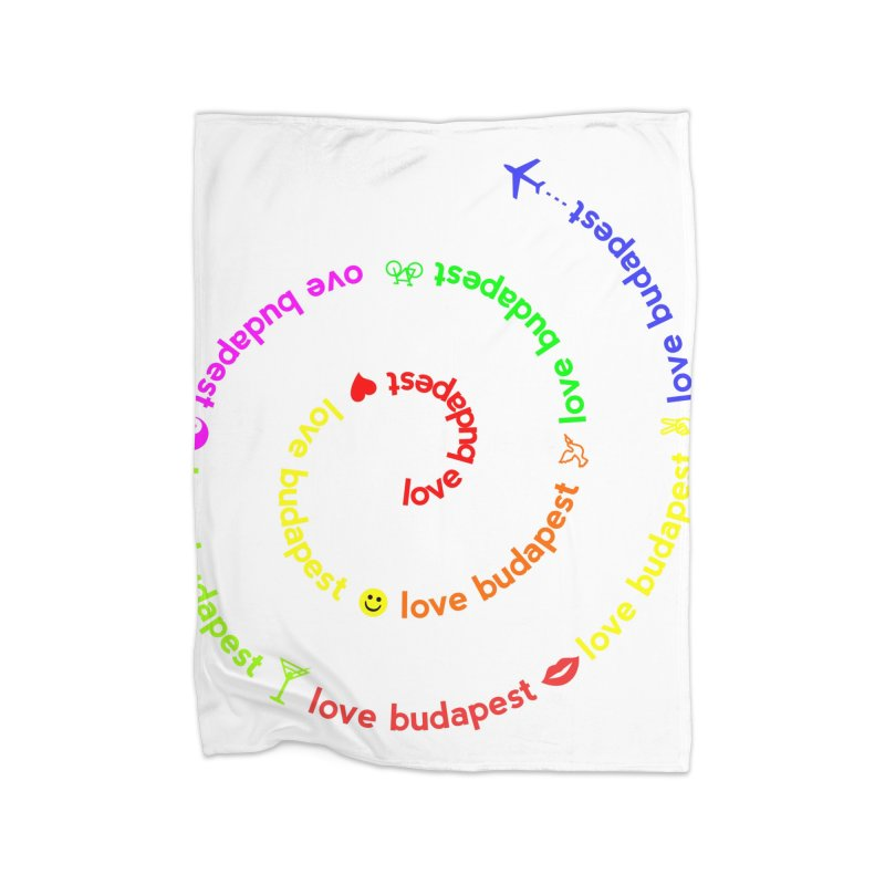 Love Budapest, colors Home Blanket by ALMA VISUAL's Artist Shop