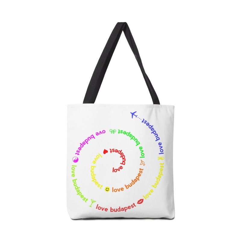 Love Budapest, colors Accessories Bag by ALMA VISUAL's Artist Shop