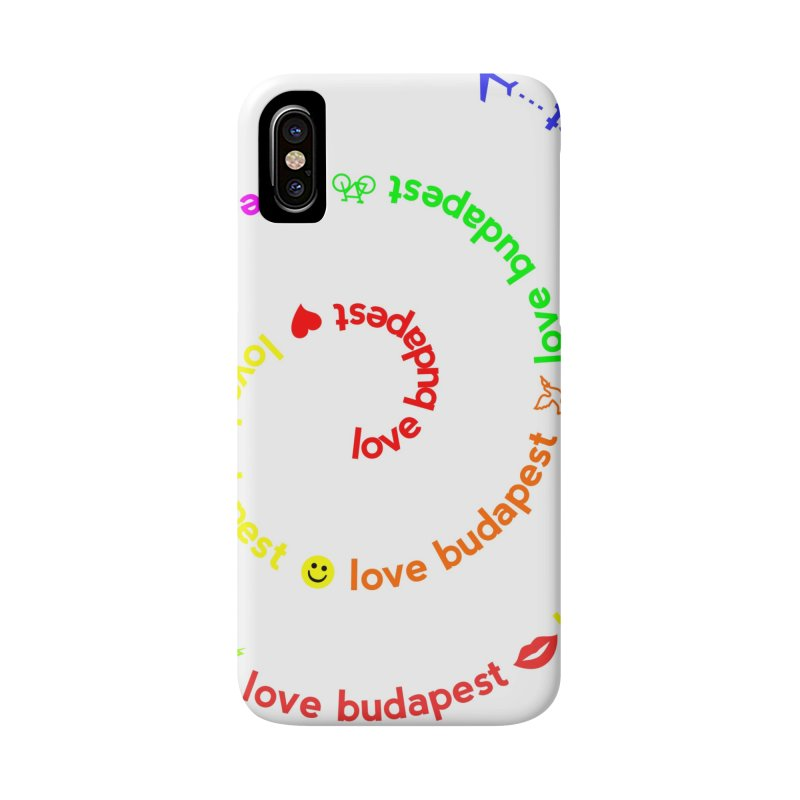 Love Budapest, colors Accessories Phone Case by ALMA VISUAL's Artist Shop
