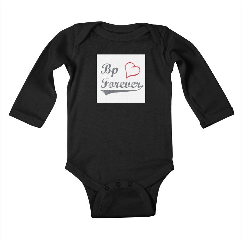 Budapest forever Kids Baby Longsleeve Bodysuit by ALMA VISUAL's Artist Shop
