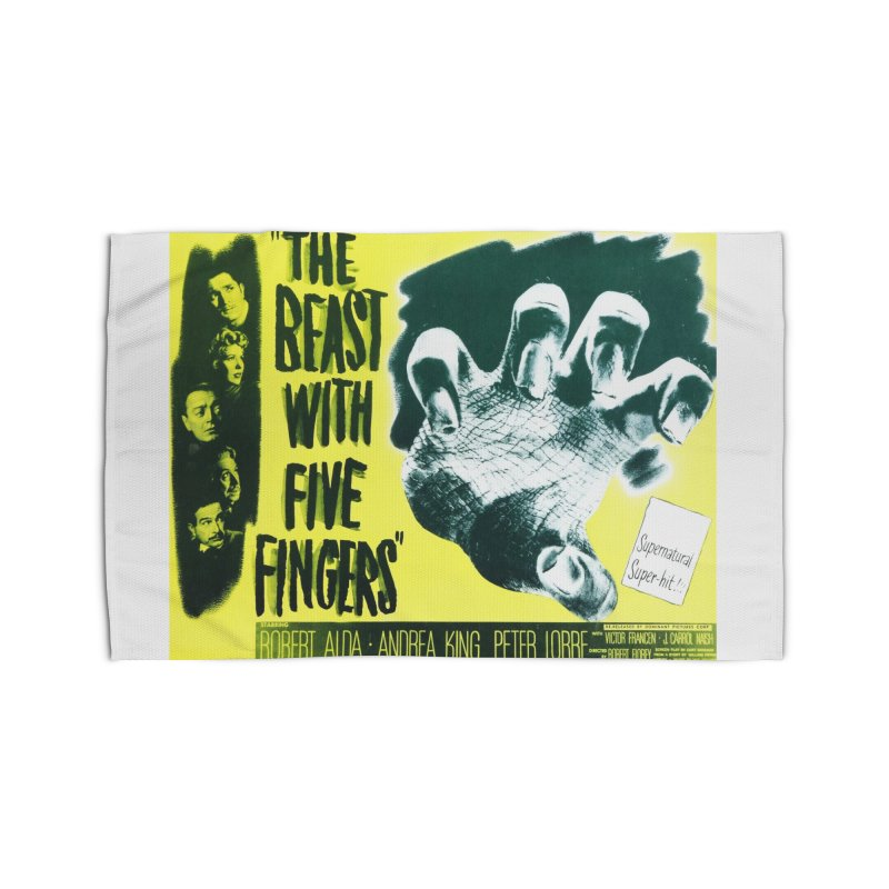 The Beast with five fingers, vintage horror movie poster Home Rug by ALMA VISUAL's Artist Shop