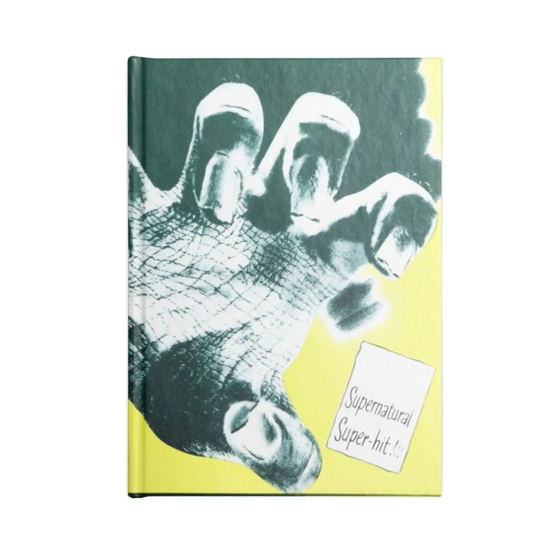 The Beast with five fingers, vintage horror movie poster Accessories Notebook by ALMA VISUAL's Artist Shop