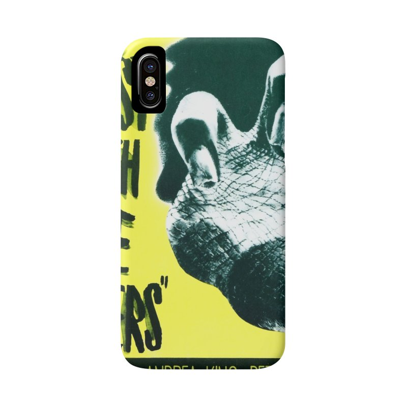 The Beast with five fingers, vintage horror movie poster Accessories Phone Case by ALMA VISUAL's Artist Shop