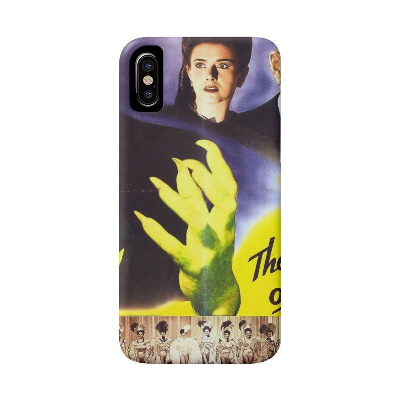 The Catman of Paris, Vintage Horror Movie Poster Accessories Phone Case by ALMA VISUAL's Artist Shop