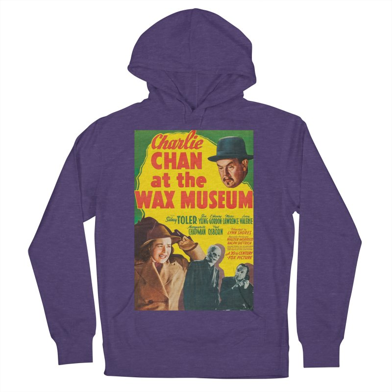 Charlie Chan at the Wax Museum, vintage movie poster Women's Pullover Hoody by ALMA VISUAL's Artist Shop