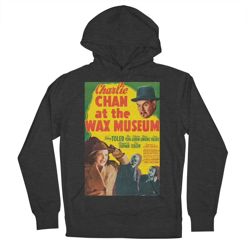 Charlie Chan at the Wax Museum, vintage movie poster Men's Pullover Hoody by ALMA VISUAL's Artist Shop