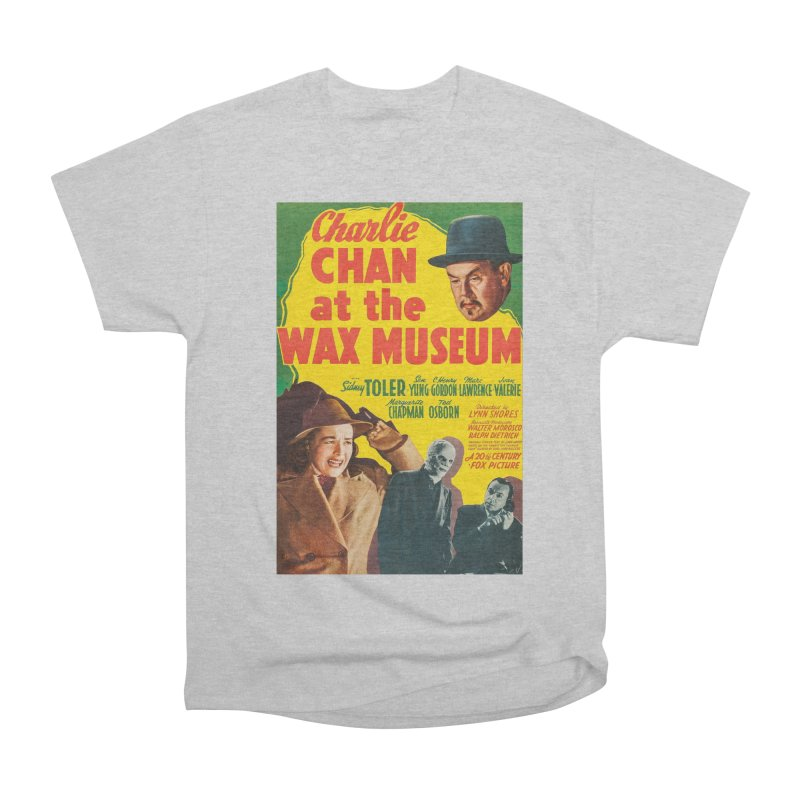 Charlie Chan at the Wax Museum, vintage movie poster Men's Classic T-Shirt by ALMA VISUAL's Artist Shop