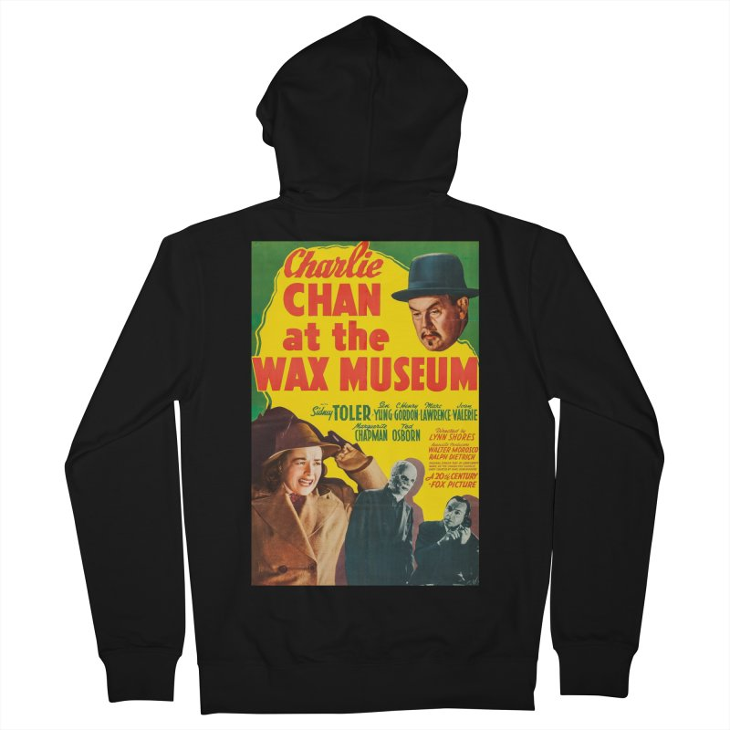 Charlie Chan at the Wax Museum, vintage movie poster Women's Zip-Up Hoody by ALMA VISUAL's Artist Shop