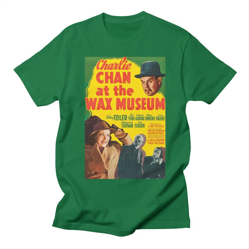 Charlie Chan at the Wax Museum, vintage movie poster Men's T-shirt by ALMA VISUAL's Artist Shop