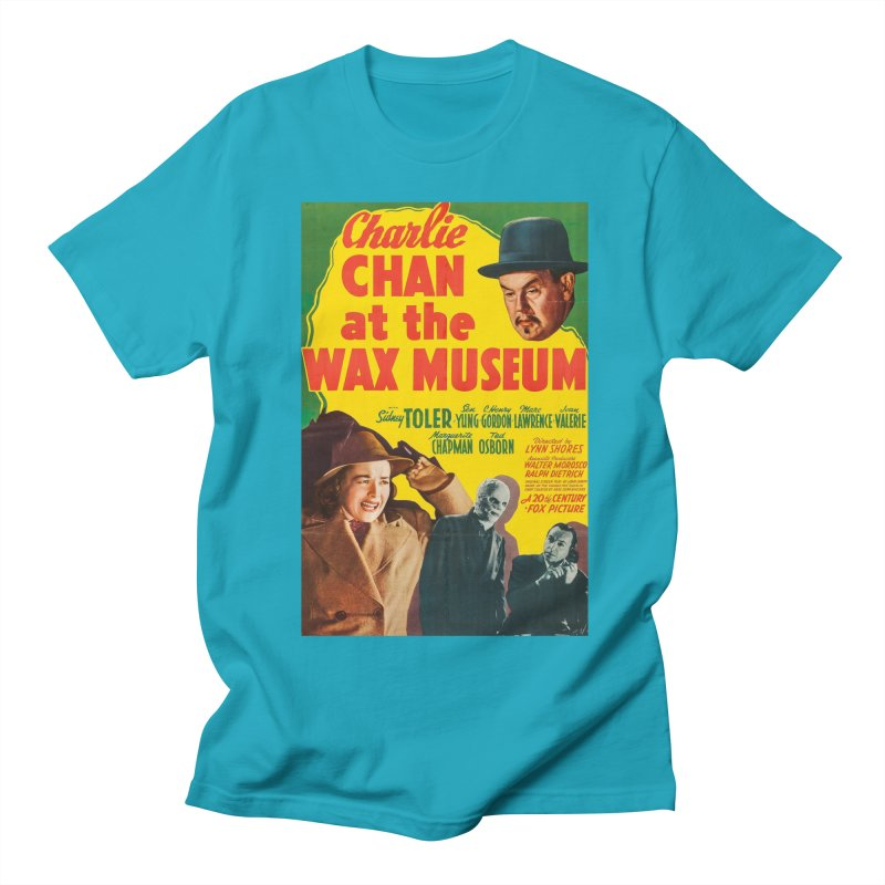 Charlie Chan at the Wax Museum, vintage movie poster Women's Unisex T-Shirt by ALMA VISUAL's Artist Shop