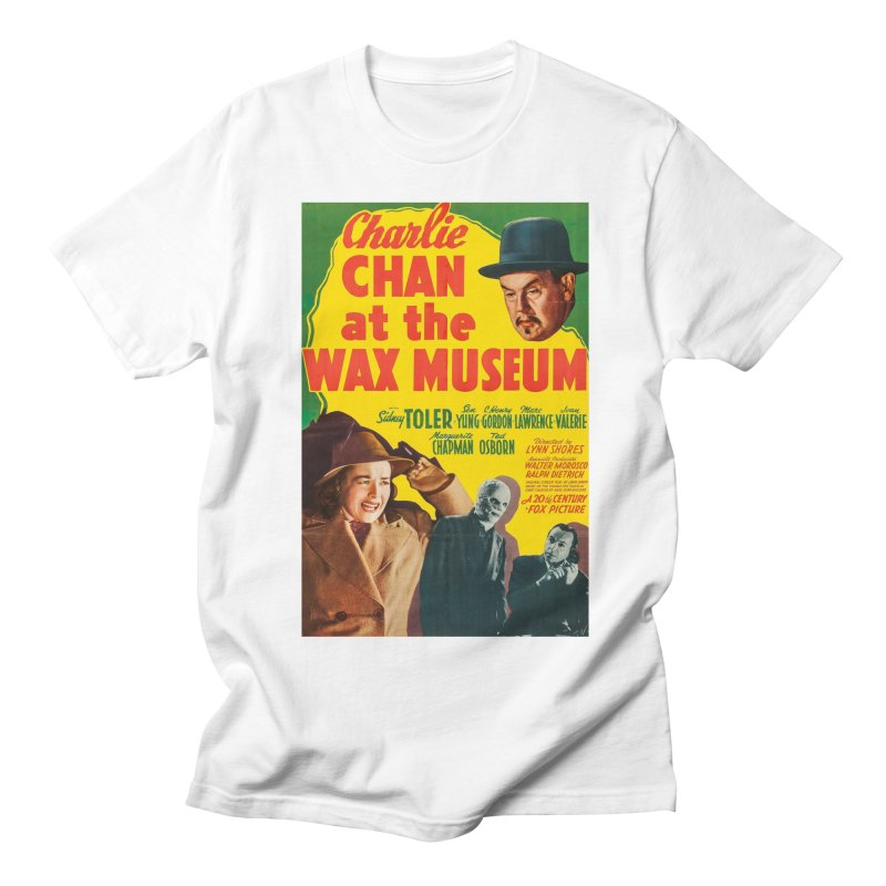 Charlie Chan at the Wax Museum, vintage movie poster Women's Regular Unisex T-Shirt by ALMA VISUAL's Artist Shop