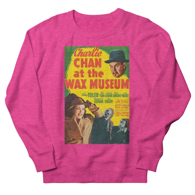 Charlie Chan at the Wax Museum, vintage movie poster Women's Sweatshirt by ALMA VISUAL's Artist Shop