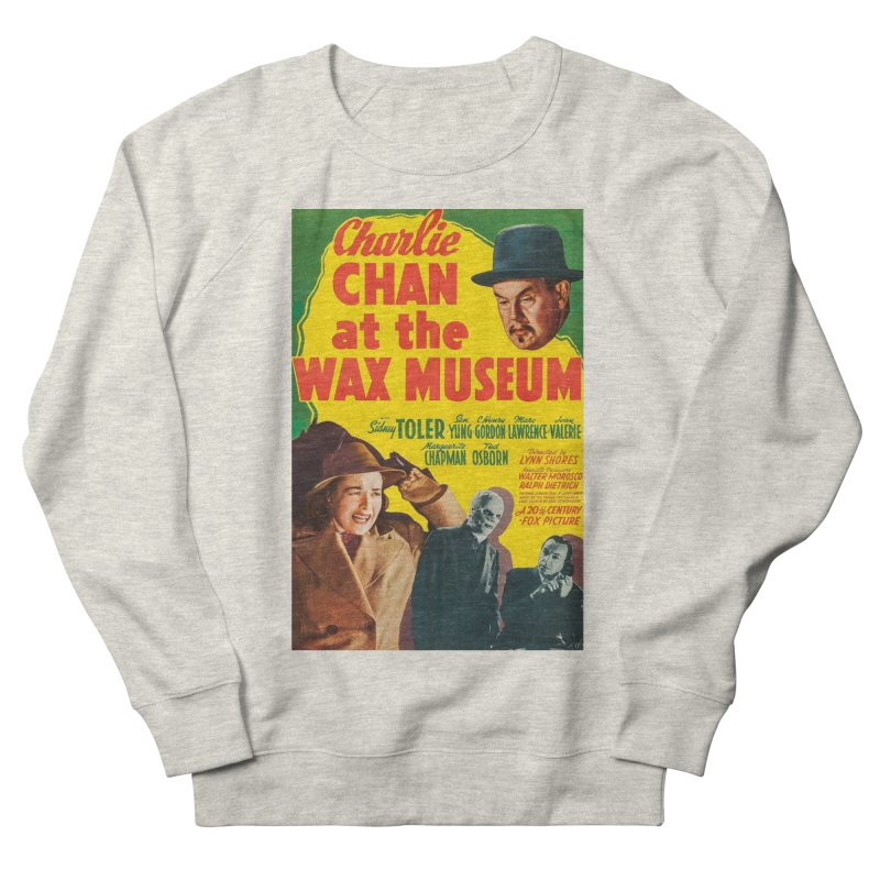 Charlie Chan at the Wax Museum, vintage movie poster Women's French Terry Sweatshirt by ALMA VISUAL's Artist Shop
