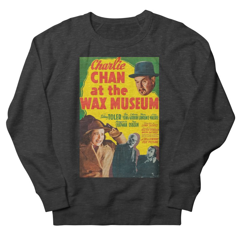 Charlie Chan at the Wax Museum, vintage movie poster Men's Sweatshirt by ALMA VISUAL's Artist Shop