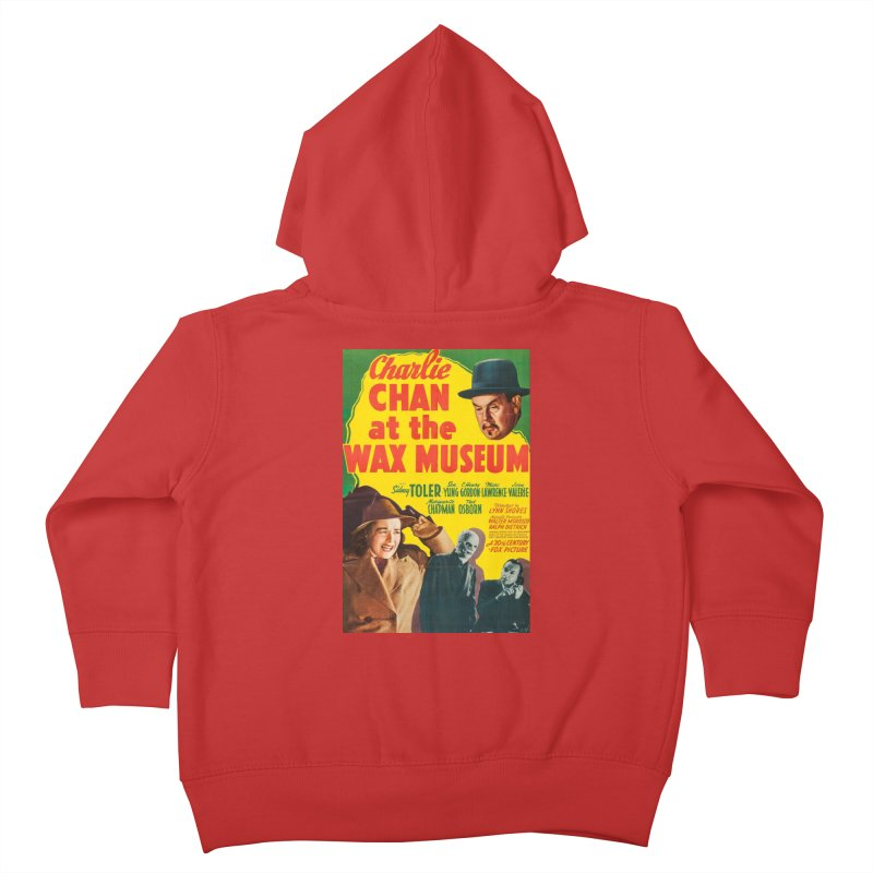 Charlie Chan at the Wax Museum, vintage movie poster Kids Toddler Zip-Up Hoody by ALMA VISUAL's Artist Shop